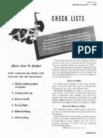 B-17 Pilot Checklist