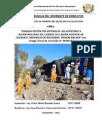 5 INFORME DEL RESIDENTE DE OBRA-LAMPA-JULIO-2021