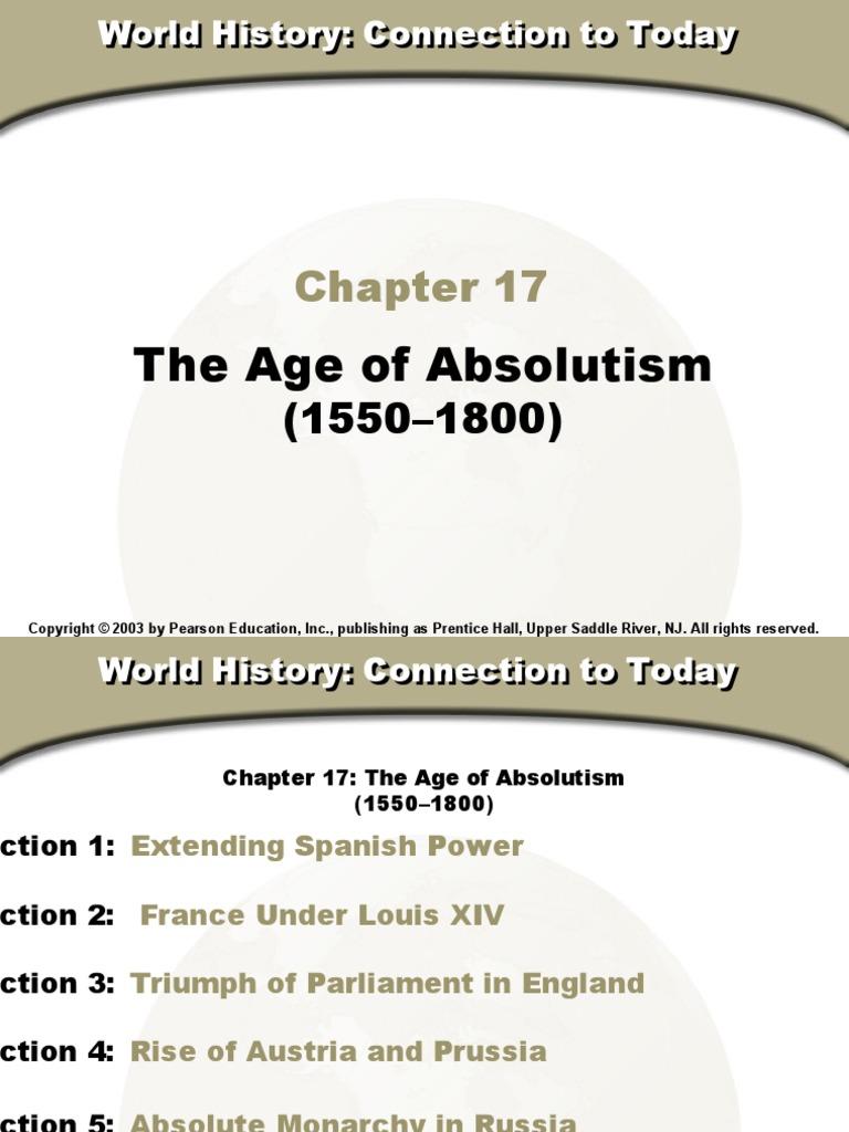 Age Of Absolutism Textbook Kingdom Of England English Civil War