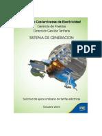 Datos y proyecciones SISTEMA DE GENERACIÓN ICE 2010