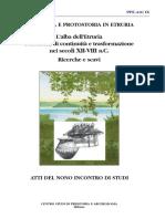 Le abitazioni a pianta ellittica in Etruria nei secoli XII-VIII a.C.