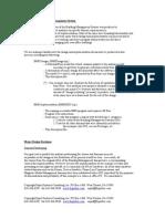 Description and Design Overview