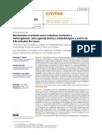 Movimentos e estado como coletivos instáveis e heterogêneos- uma agenda teórico-metodológica a partir de três estudos de casos