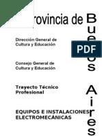 Equipos e Instalaciones Electromecanicas