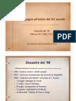 8.La Spagna all inizio del XX secolo