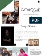 Catalogue 1 kariba
