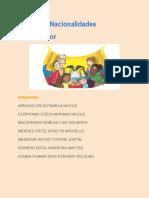 Pueblos y nacionalidades de el Ecuador