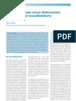 2005-04, Elektronisches Regieren und die eGK