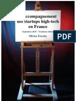 Accompagnement des Startups en France Sept2010