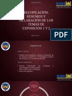 EXPO # 1 y # 2, GRUPO # 4 , HIDRAULICA