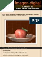 Modelado de una manzana con 3d max