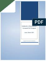 Firewall - Instalacion y Desinstalacion Agente Forcepoint DLP