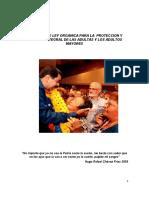 Ley Organica Ded Adultos y Adultas Mayores Versión 1ra Discusion