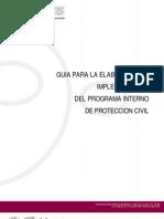 GUIA PROGRAMA INTERNO DE PROTECCION CIVIL