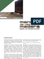 Manual de Uso de La Madera