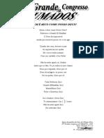 10° Congresso da UMADOS