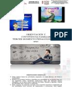 GUIA PEDAGOGICA  ORIENTACIÓN Y CONVIVENCIA TERCER MOMENTO 2020-2021