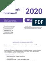 RIFA -Metodología Freelance 2020