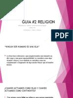 GUIA #2 RELIGION