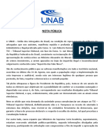 Nota Barroso