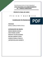 Proyecto Final. Física y Química..