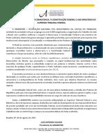 Nota Publica.defesaSTF