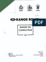 RR90 Manuel du conducteur