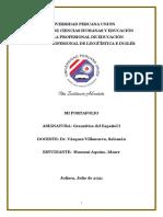 Universidad Peruana Unión Gramatica