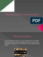 sistema tecnico costo-beneficio (presentacion)