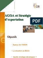 AGOA Et Strategie d'Exportation Benin 17 Aout 2010