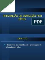 Prevenção de Infecção Por Sitio