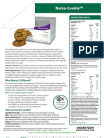 Nutra-Cookie Fact Sheet