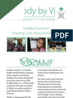 Body by Vi™ Community Challenge Brochure