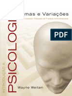 Introdução a Psicologia Temas e Variações