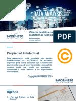 Ciencia de datos en Python vs SPSS