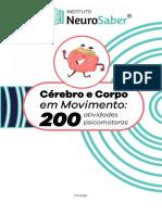 CÉREBRO E CORPO EM MOVIMENTO  - ED.2