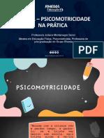 SLIDES DA AULA - OFICINA_PSICOMOTRICIDADE