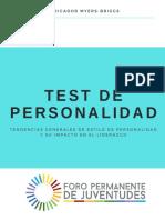Indicador - Test de Personalidad