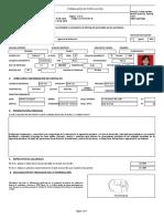 RA TH 03.00.30 Formulario de Postulación