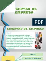 LIBERTAD DE EMPRESA