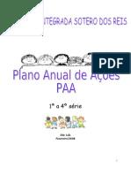 PLANO DE ACOES 2008