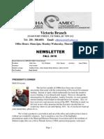 August 2010 Newsletter