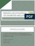 Terapia Ocupacional en Diabetes Mellitus
