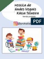 APOSTILA DE ATIVIDADES VOGAIS