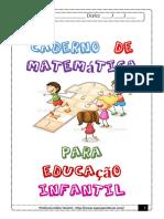 Apostila de matemática educação infantil