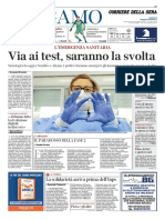 Corriere Della Sera Bergamo 23 Aprile 2020