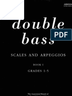 Double Bass, Scales and Arpeggios