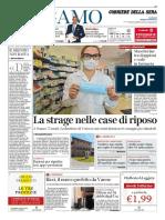 Corriere Della Sera Bergamo 7 Aprile 2020