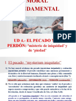 MORAL FUNDAMENTAL. UD 4. EL PECADO Y EL PERDÓN