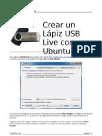 Manual Pendrive Linux
